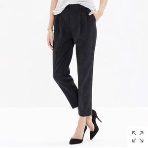 Madewell Rivington Trousers in Leopard Jacquard 0